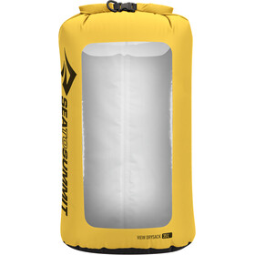 Sea to Summit View Dry Sack L, geel